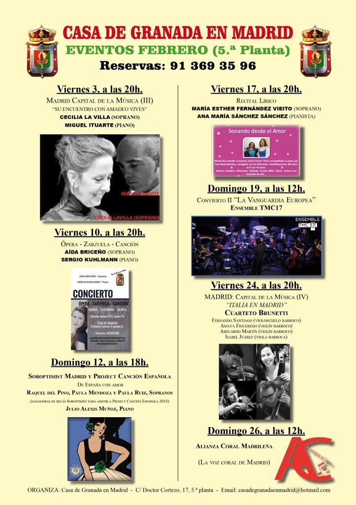 Eventos Febrero