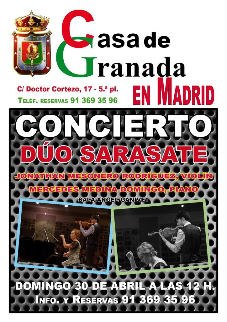 cartel_Duo Sarasate