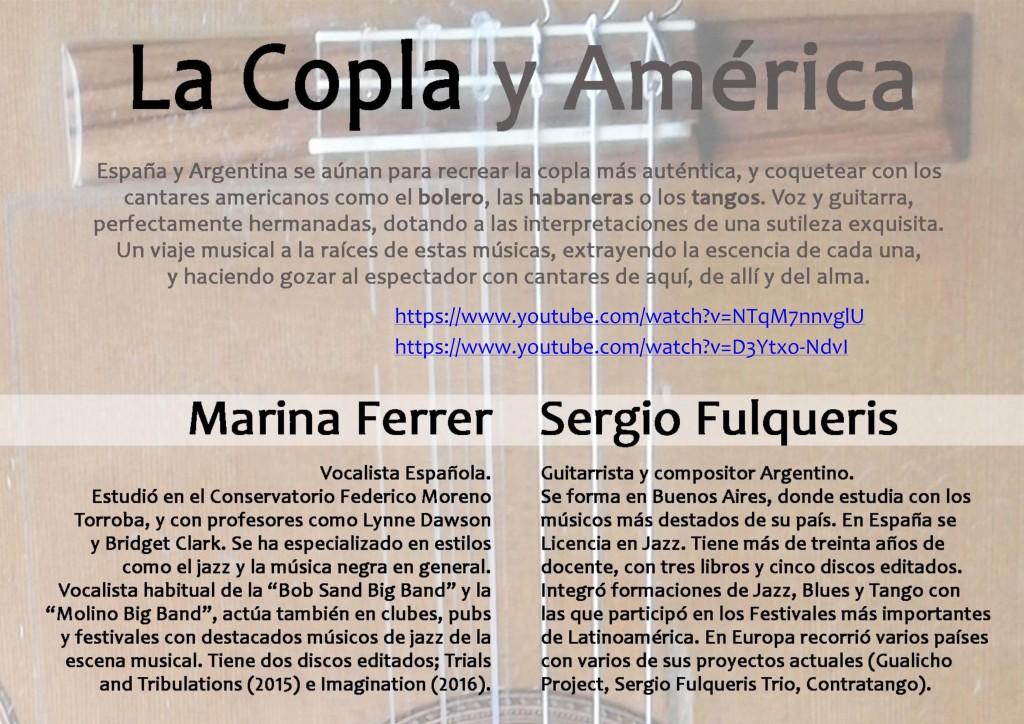 La Copla y America