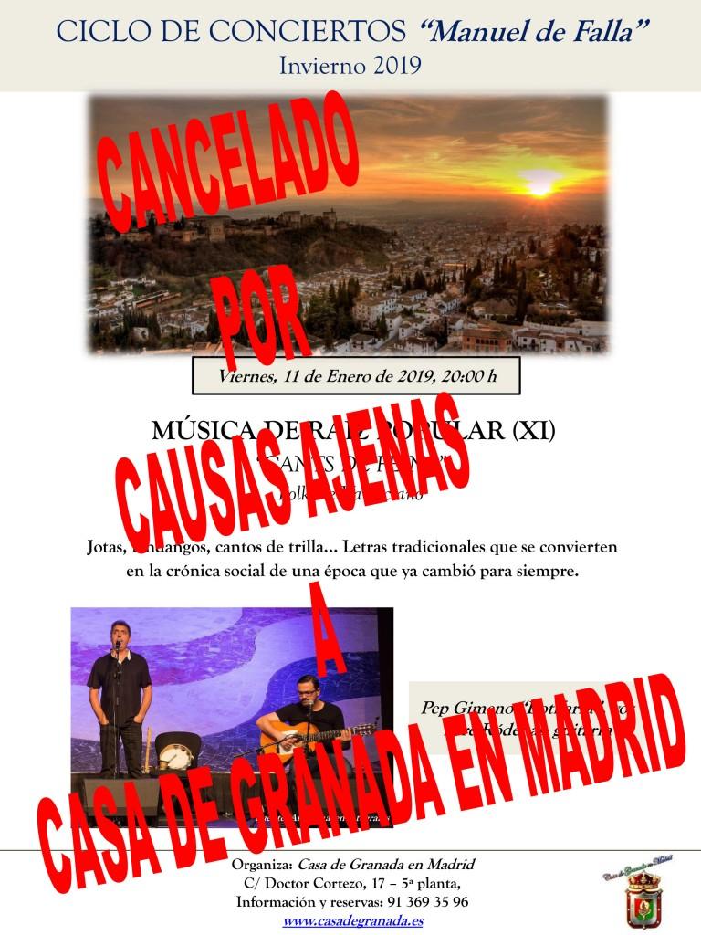 CICLO DE CONCIERTOS