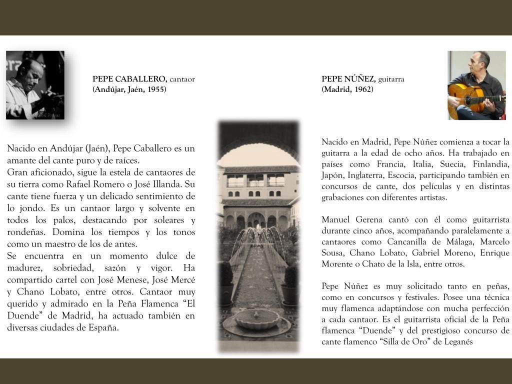 I CICLO DE CONCIERTOS   Organiza Casa de Granada