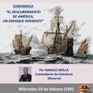 Conferencia el miércoles 19 febrero (19h)