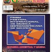 Concierto domingo 20 octubre a las 12h con Silvia Nogales (guitarra).